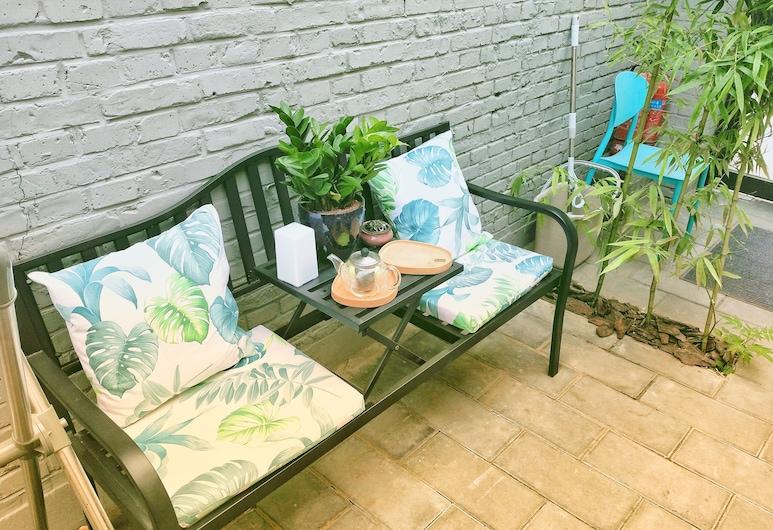 北京四合青旅, 北京市, 庭園