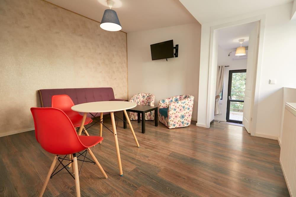 Paaugstināta komforta dzīvokļnumurs - Naktsmītnes teritorija