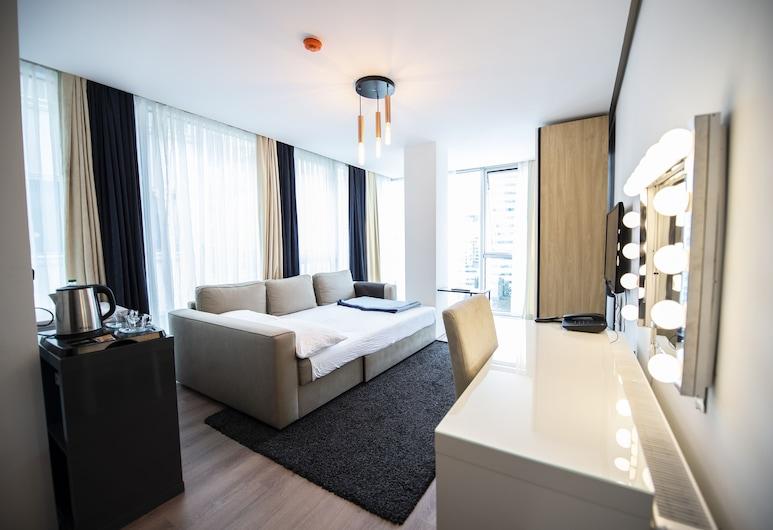 We Residence, Estambul, Estudio Deluxe, Zona de estar