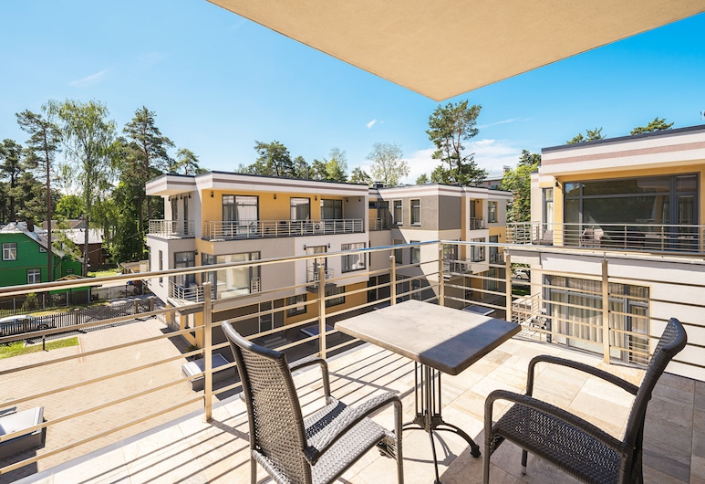Black Pearl Apartments, Jurmala, Apartment, 1 Schlafzimmer (for 2 guests), Terrasse/Patio