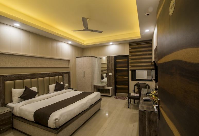 Hotel Mahajan Internatioanal, New Delhi, Deluxe Room, Guest Room