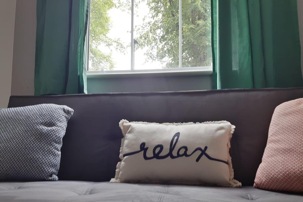 Luxury Apartment, 1 Bedroom, Ground Floor - Living Area