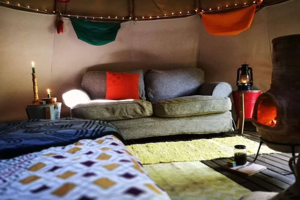 Namiot luksusowy - Powierzchnia mieszkalna