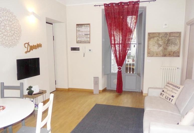 Inappartamento Quintino, Torino, Appartamento, 1 camera da letto, Area soggiorno