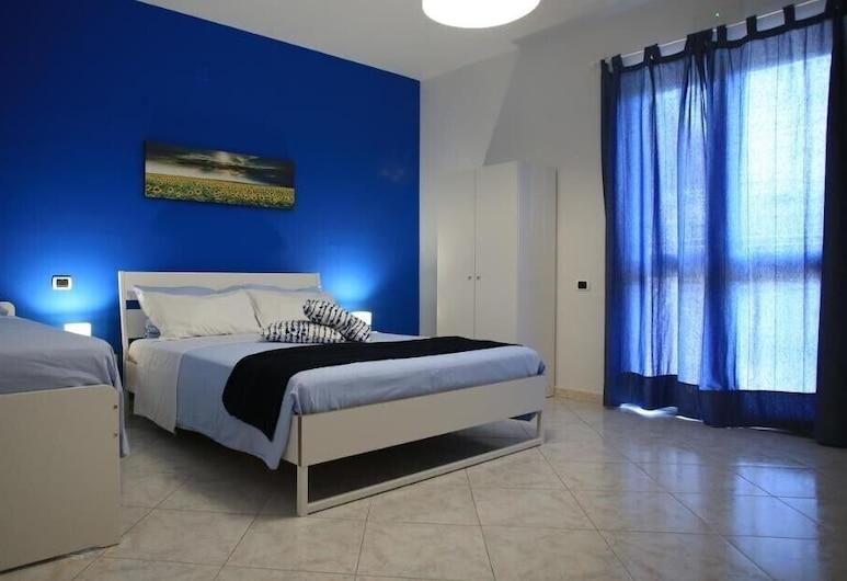 Villa Rosa Pompei Studios, Pompeji, Deluxe trokrevetna soba, Soba za goste