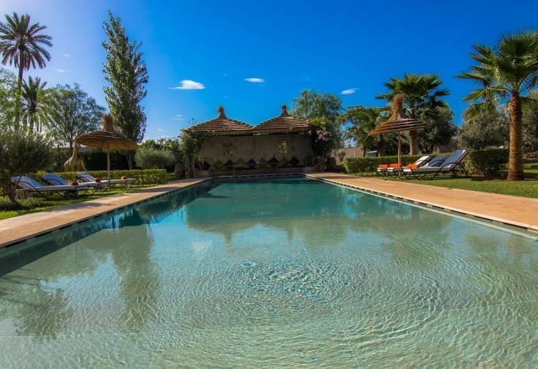 Villa D'artiste Dar Jmel, מרקש, בריכה