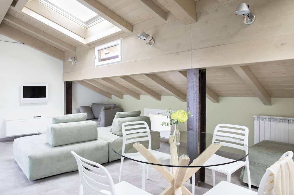 อพาร์ทเมนท์, 1 ห้องนอน (Lavarello) - พื้นที่นั่งเล่น