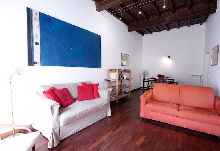 Monticelli, Rome, Appartement, 2 slaapkamers, Woonruimte