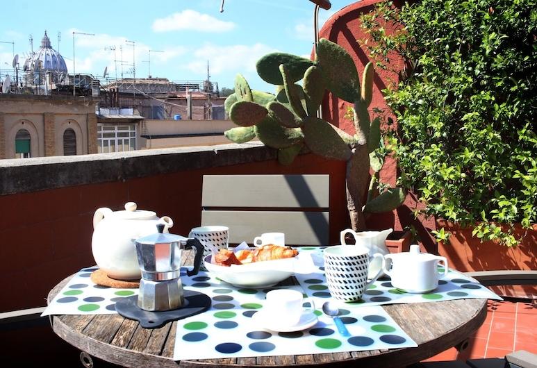 Vitelleschi Terrace, Rome, Apartment, 1 Bedroom, Terrace/Patio