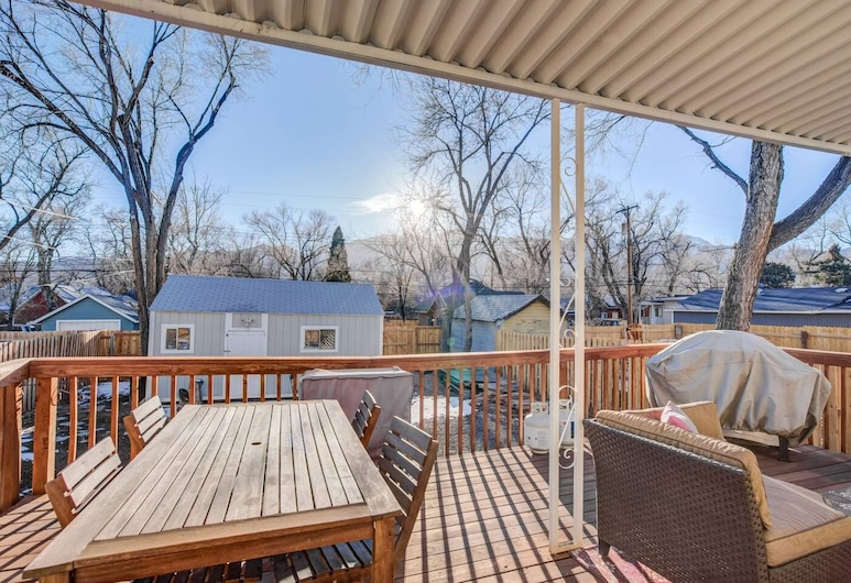 1893 Classic 4 Blocks From Great Dining & Shops, Colorado Springs, Balcony