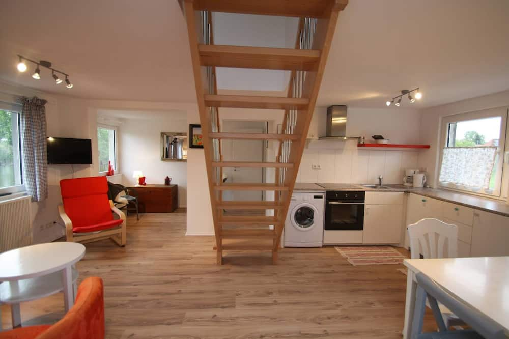 Duplex, 2 Bedrooms, Patio - Living Area