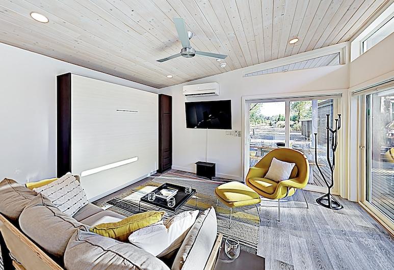 酒乡度假屋 - 现代 3 栋 2 居小屋, 海兹堡, 村舍, 2 间卧室, 起居室