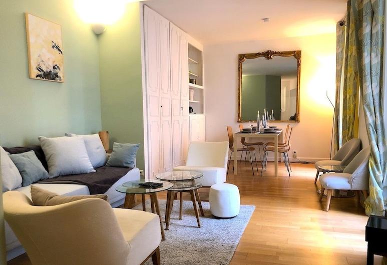Paris - Magdebourg, Paris, Apartment, Wohnbereich
