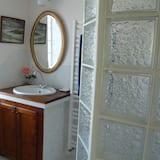 Suite, 2 soverom - Vask på badet
