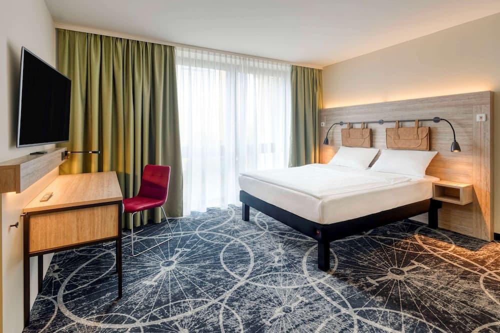 Dvivietis kambarys (2 viengulės lovos) su patogumais, 2 viengulės lovos (Modern) - Svečių kambarys