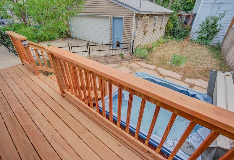 3BR Hot-tub & Dog-friendly Old Colorado City!!, Colorado Springs, Balkons