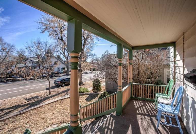 Downtown 1900 Classic 3 Bedroom Value, Colorado Springs, Balkons