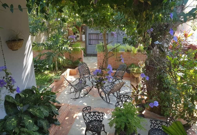Casa Las Españolas, Vinales, Dvorište
