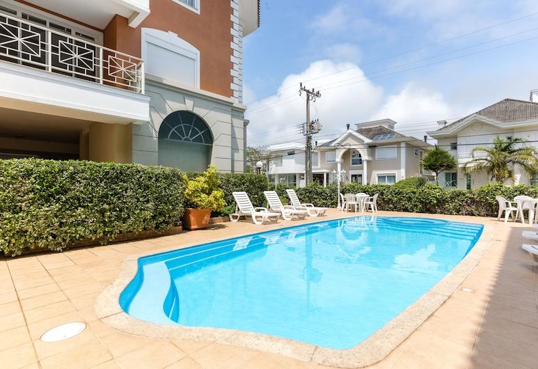 Apto para famílias bem localizado VDI208, Florianopolis, Басейн