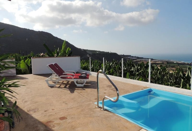 House With 2 Bedrooms in Santiago del Teide, With Wonderful sea View, Shared Pool, Furnished Terrace - 3 km From the Beach, Santiago del Teide, Bazen
