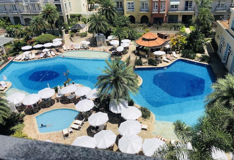 Apto em Resort de luxo próximo ao mar ILC, Florianopolis, Açık Yüzme Havuzu