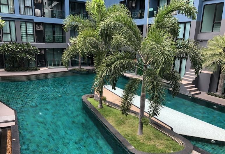 Acqua Condo Jomtien Beach TLH, Pattaya, Alberca al aire libre