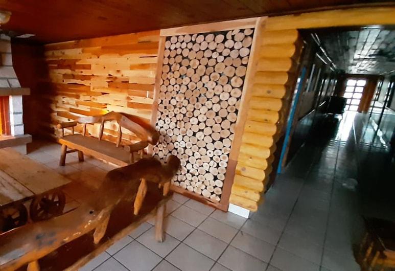 Cabañas Korachi, Bocoyna, Sala de estar en el lobby
