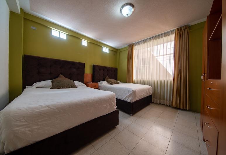 Hotel de Santa Maria, Santa Cruz del Quiché, Apartamento, 2 habitaciones, cocina, Habitación