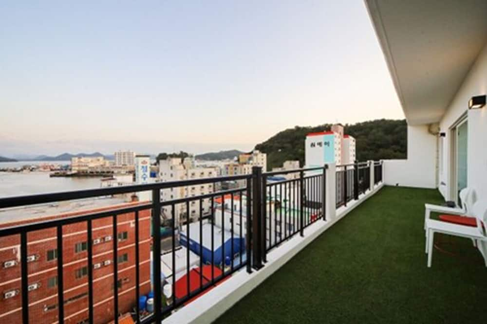 Rodinný apartmán - Balkón