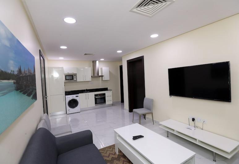 OYO 109 Dana Plaza 2, Manama, Apartment, 1 Schlafzimmer, Wohnbereich