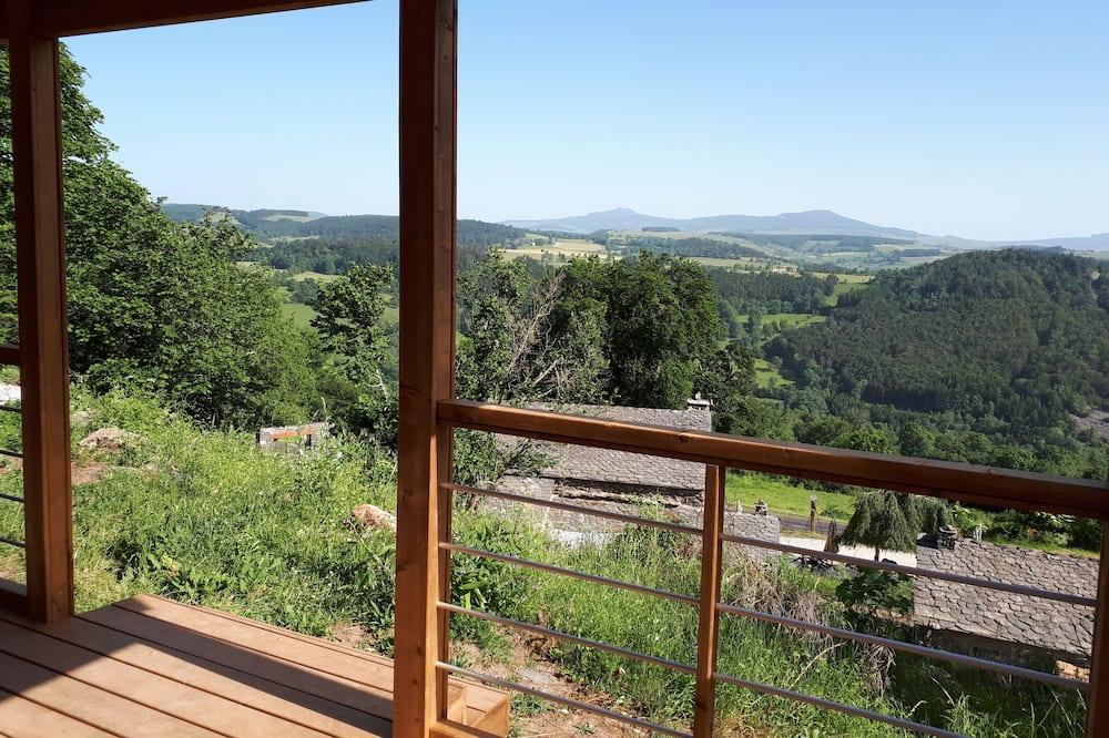 Шале преміум-класу, приватна ванна, з видом на гори - Вид з балкона