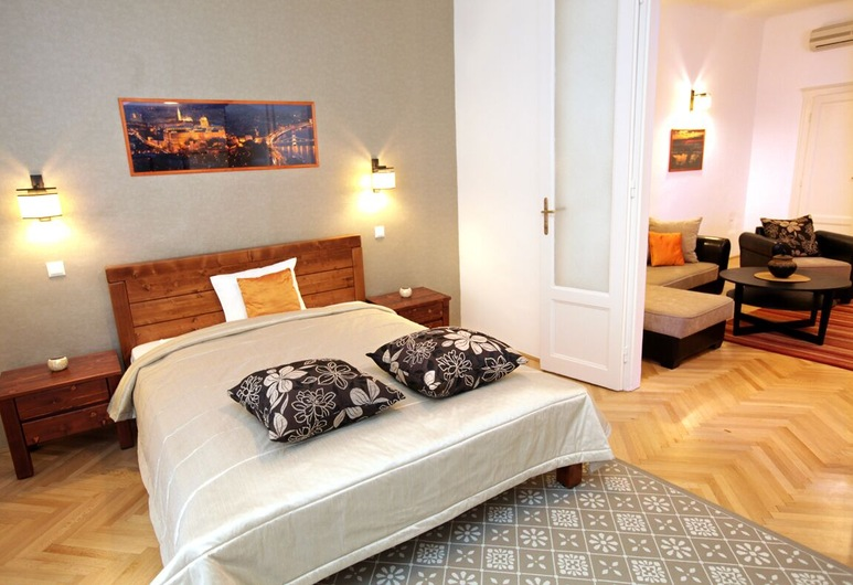 Be a Budapester, Budapešť, Apartmán, 1 spálňa, Izba