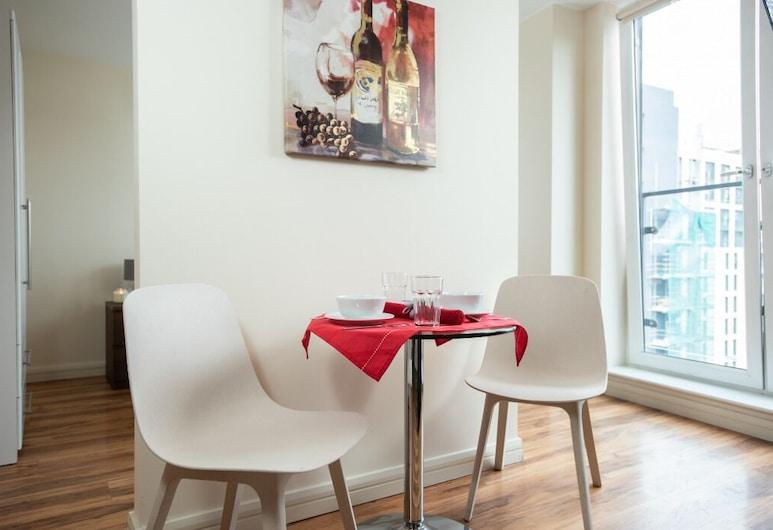 Arcadian City Center Studio Apartment, Birmingham, חדר סטנדרט זוגי (Studio), אזור אוכל בחדר