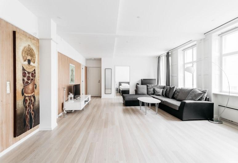 120m2 Apartment in Nyhavn, קופנהגן, דירת סטנדרט, סלון
