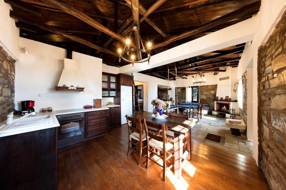 House, Sea View - Living Area