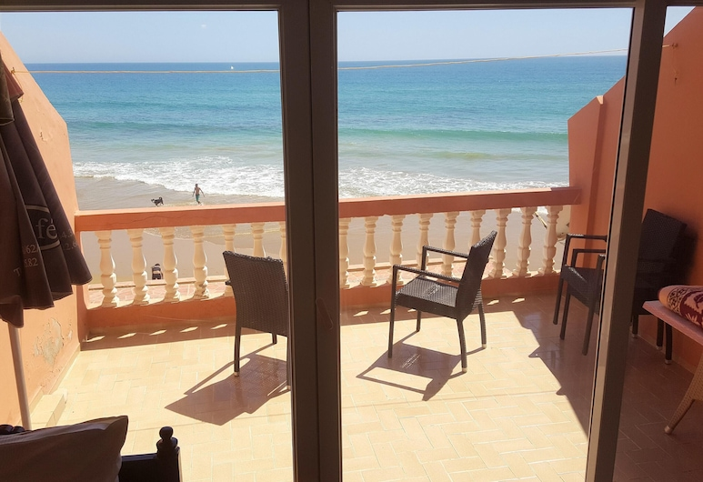 Apartment With 2 Bedrooms in Taghazout, With Wonderful sea View, Balcony and Wifi, Taghazout, Balkoni