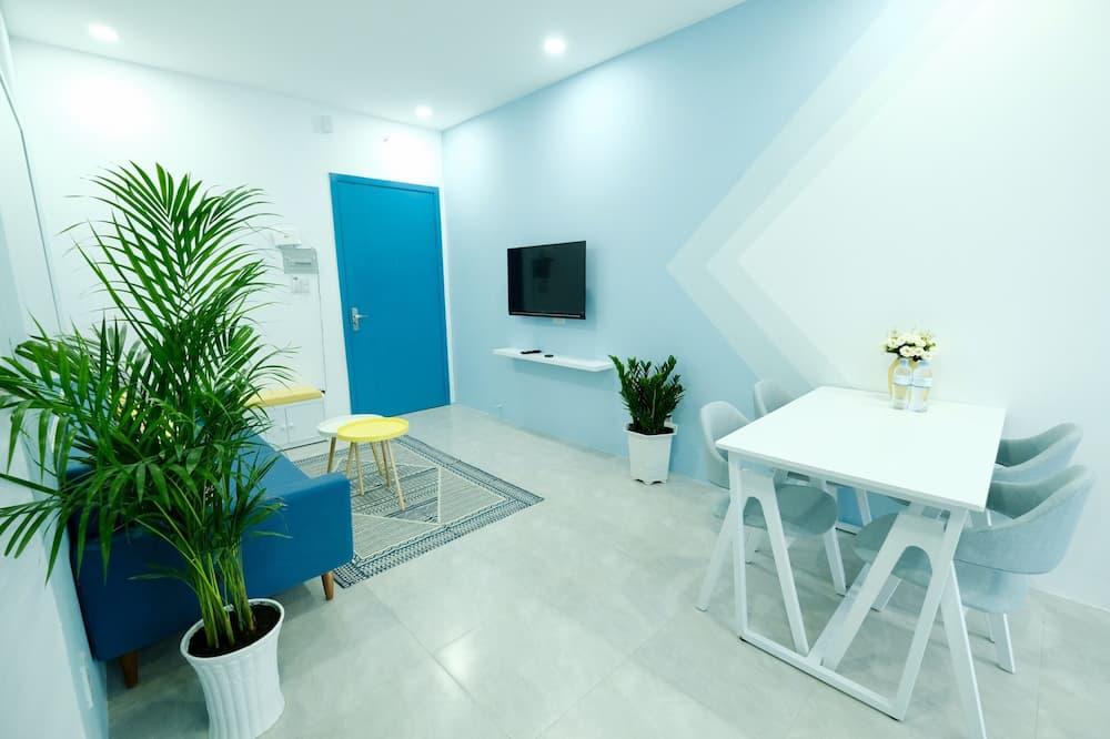 Romantický apartmán, 2 spálne - Obývacie priestory