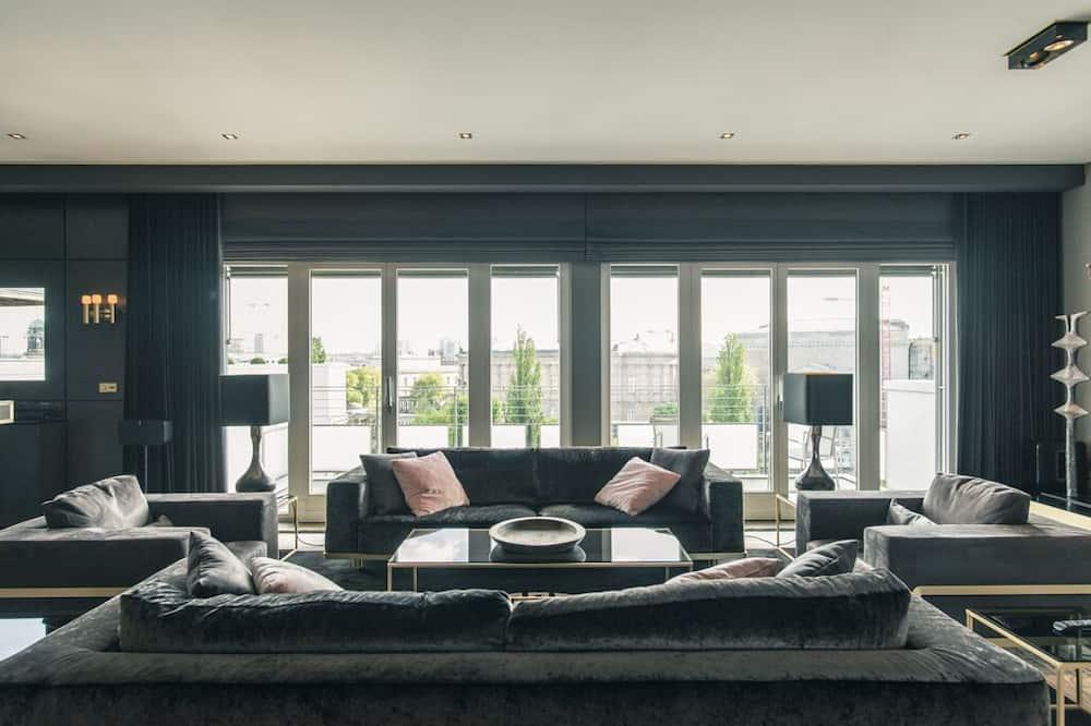 Apartamento Premium, 3 Quartos - Sala de Estar