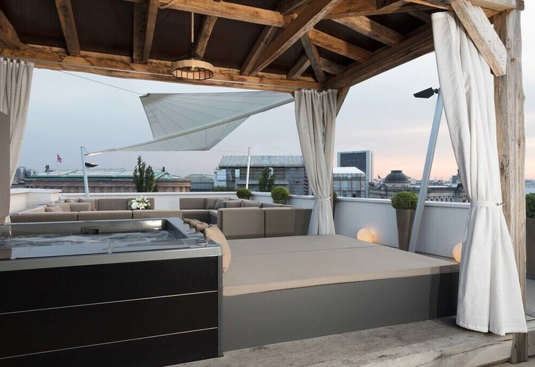 Monbijou Penthouse by Suite.030, Berlin, Terrasse/veranda