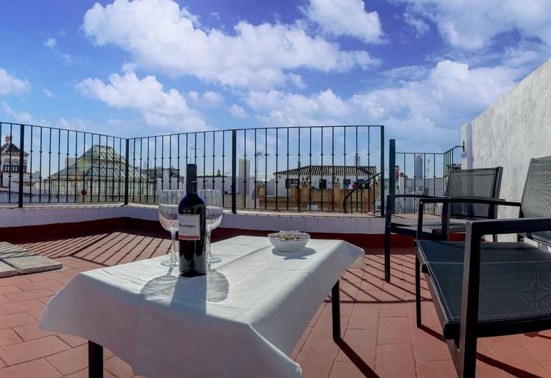 DescubreHome Francos, Sevilla, Apartment, 1 Schlafzimmer, Terrasse, Terrasse/Patio