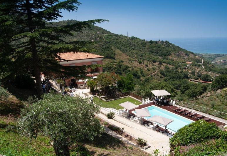 Villa Tecla, Capri Leone, Aerial View