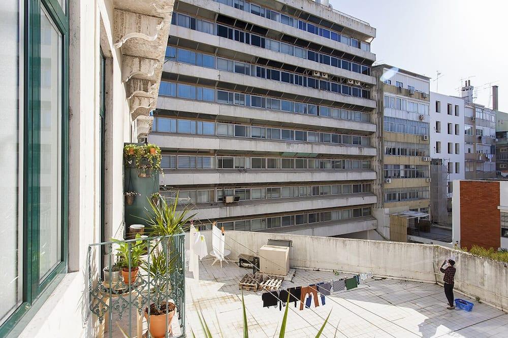 Apartamento, 6 quartos - Balkonas