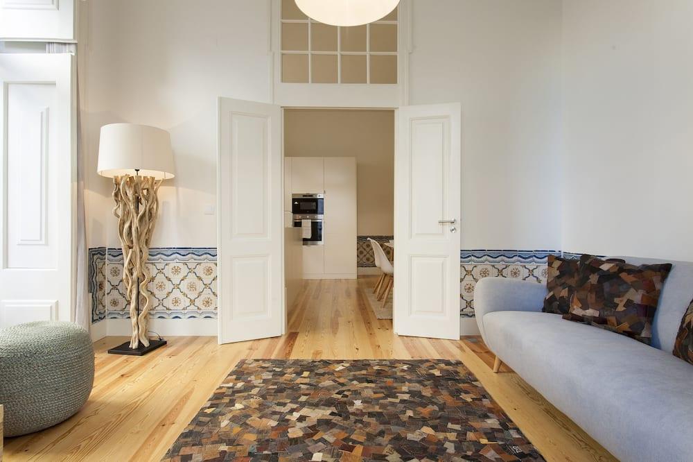 Apart Daire (2 Bedrooms) - Oturma Alanı