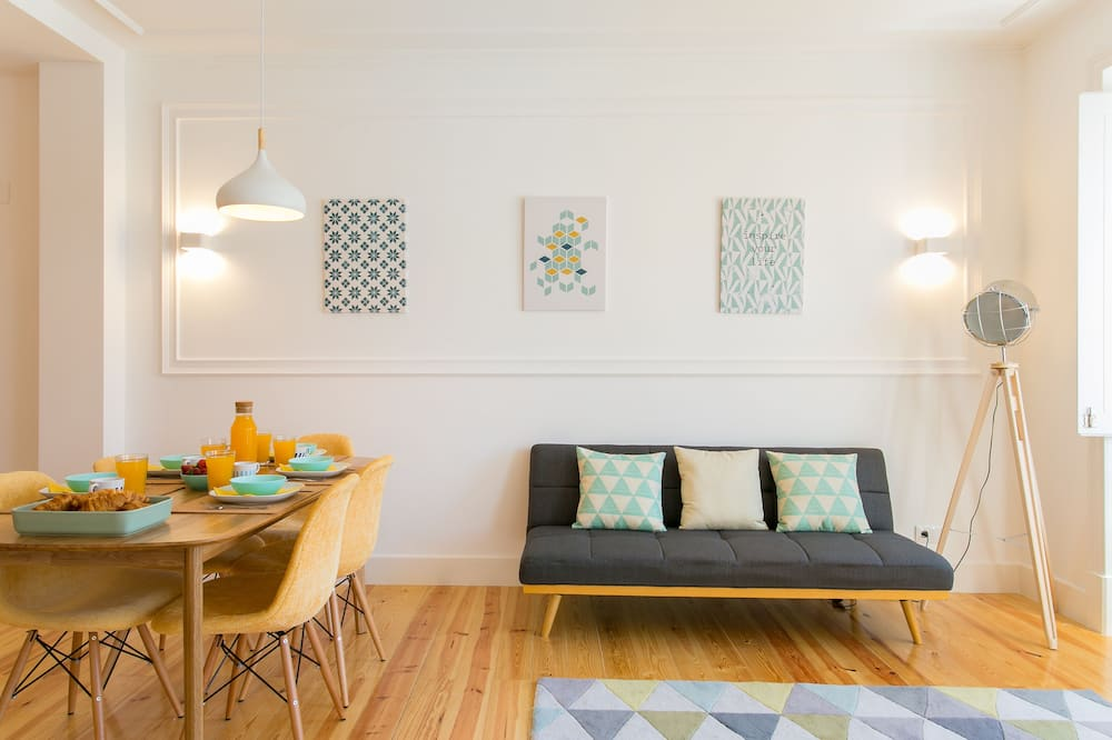 Appartement (2 Bedrooms) - Coin séjour