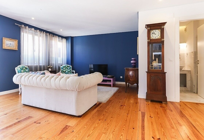 ALTIDO Avenida VI, Lisbon, Apartment (2 Bedrooms), Living Room