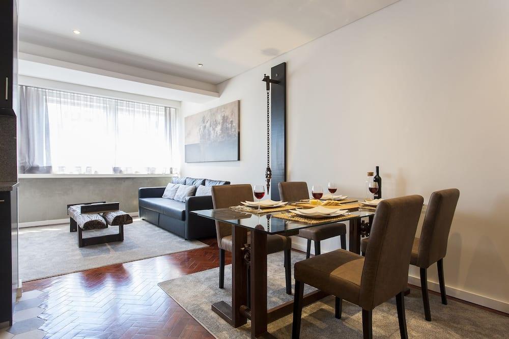 Apartment (1 Bedroom) - Living Area