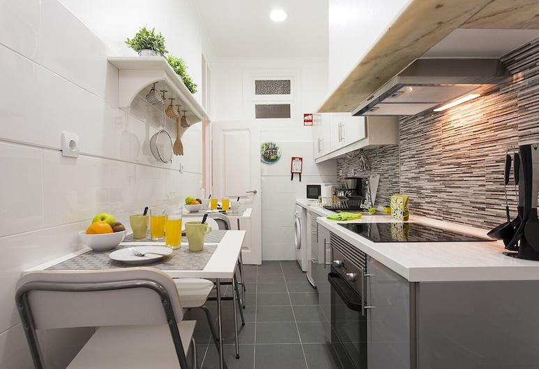 ALTIDO Charming Alfama II, Lisabon, Apartmán, 2 spálne, Súkromná kuchyňa