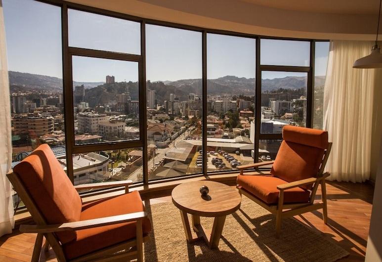 Hotel Boutique Rosario Sur, La Paz, Double Room, 2 Katil Ratu (Queen), City View, Bilik Tamu