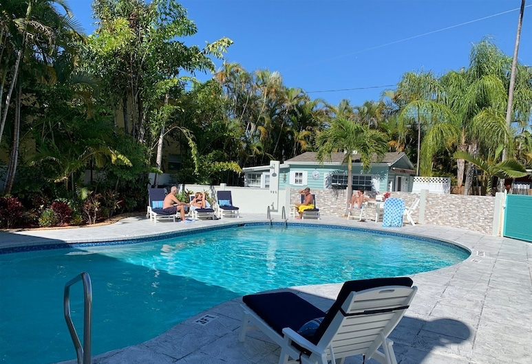 Saratoga Frank`s Key West Experience, Wilton Manors, Σπίτι, Πισίνα
