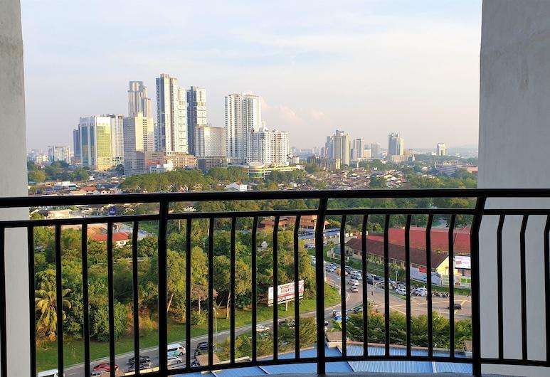 Zenith Suite Residence, Johor Bahru, Apartament typu Comfort, Balkon